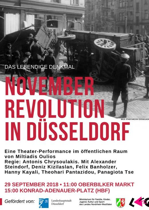 November Revolution in Düsseldorf